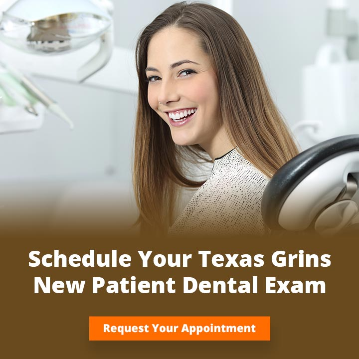new patient dental exam texas